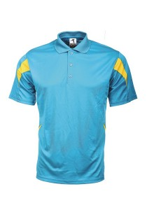 Microfibre Polo T Shirt PCT 19 (Turquoise)