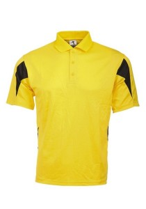 Microfibre Polo T Shirt PCT 20 (Yellow)
