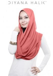 Diyana Halik - Ariana (Peach)