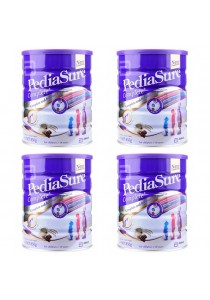 PediaSure Complete S3S Vanilla (1-10years) (850g) - Chocolate (4 Tin)