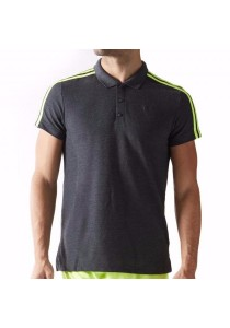 Adidas 3S Essentials Polo (Grey)