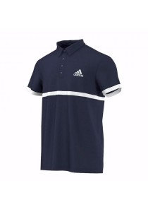 Adidas Court Polo (Blue) - L