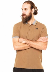 Adidas ESS Polo (Brown)