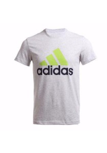 Adidas Logo Tee (Light Grey)