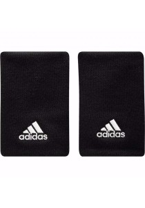 Adidas Tennis Wristband Large (Black)