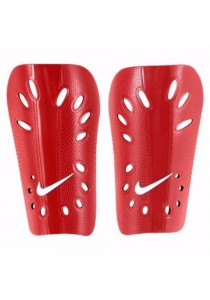 Nike J Guard Soccer Shin Guards (Red)