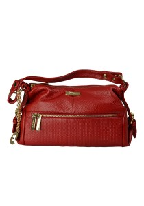 PANGOI Imported and Fully Leather Shoulder Bag PGL-915-004 (Red)