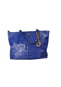 PANGOI Imported and Fully Leather Tote Bag PGL-915-005 (Blue)