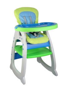 Picardo 'Groovy' 2in1 High Chair (Blue)