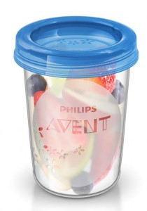5-Piece Philips AVENT Food Storage Cup 240ml SCF639/05