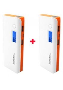 Pineng PN-968 10000mAh Power Bank PN968 Orange (2 pcs)