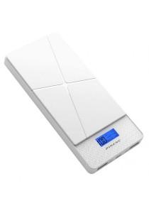 Pineng PN983 10000mAH Lithium Polymer Slim PowerBank (White)