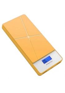 Pineng PN983 10000mAH Lithium Polymer Slim PowerBank (Yellow)