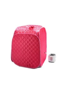 Portable Steam Sauna with Chair & Foot Massager