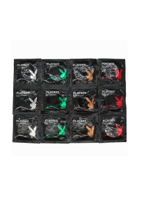 Playboy Easy Pack Condom 12 pcs 4 types