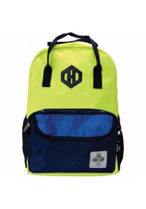 Haitop HB1655 18'' Two-Way Notebook Backpack (Green/Navy)
