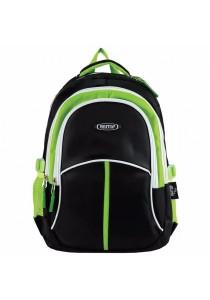 "Haitop HB1656 18"" Sporty Backpack (Black/Green)"