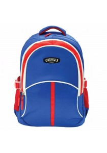 """Haitop HB1656 18"""" Sporty Backpack (Blue/Red)"""