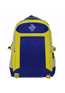 Haitop HB1658 19'' Trendy Backpack (Blue/Yellow)