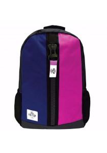 Haitop HB1659 19''Trendy Backpack (Navy/Pink)