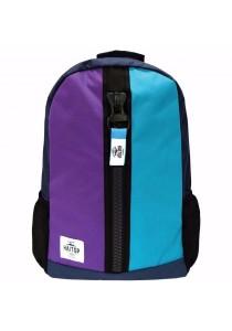 Haitop HB1659 19'' Trendy Backpack (Violet/Blue)