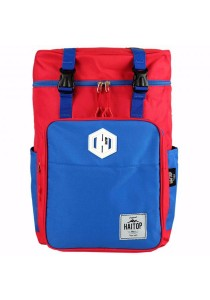 Haitop HN1660 20'' Notebook Backpack (Red/Blue)