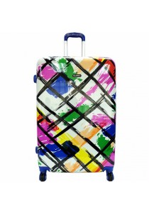 Summit 28 inch Artistic Printed PC Hard Case Trolley Multicolor