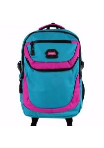 "Handry NN1664 20"" Notebook Backpack (Blue/Violet)"