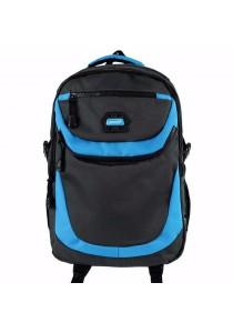 "Handry NN1664 20"" Notebook Backpack (Grey/Blue)"