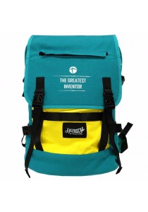 Handry NN1666 20'' Notebook Backpack (Green/Yellow)