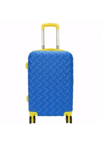 Waterpolo WA1493 - 28 inch ABS Suitcase Trolley (Blue/Yellow)