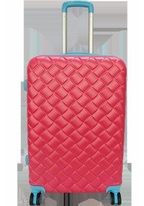 Waterpolo WA1493 - 28 inch ABS Suitcase Trolley (Pink/Blue)
