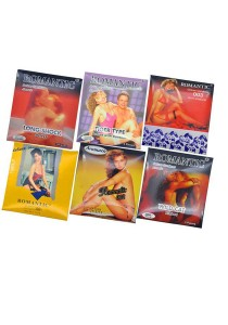 Romantic Deluxe Condoms 6-in-1 Combo Set