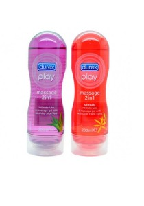 Durex Play Lubricant and Massage Oil Combo Pack