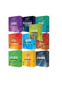 ESP Enjoyable Safe Pleasure Condom 10-in-1 Pack 30pcs