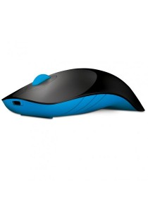 MorroLogic Air Shark Wireless Mouse (Black/Blue)