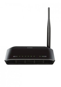 D-Link DSL-2730E Wireless N-150 ADSL2+ 4-Port Router
