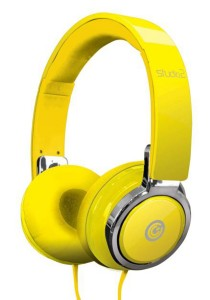 SonicGear Earpump Studio 2 Headphone (Glossy Yellow)