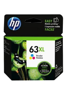 HP 63XL High Yield Tri-color Original Ink Cartridge (F6U63AA)