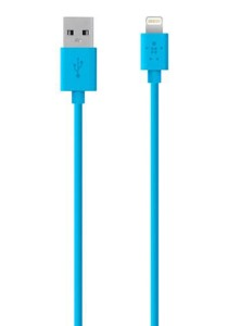 Belkin MIX IT Lightning Sync/Charge Cable 1.2m/4ft (Blue)