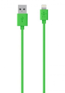 Belkin MIX IT Lightning Sync/Charge Cable 1.2m/4ft (Green)