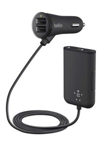 Belkin Road Rockstar: 4-Port Passenger Car Charger (F8M935bt06-BLK)
