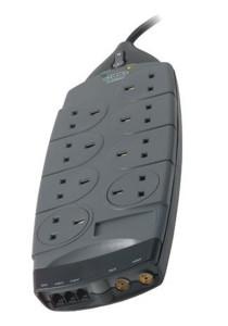 Belkin Gold Series 8-Socket Surge Protector (F9G823sa4M-GRY)