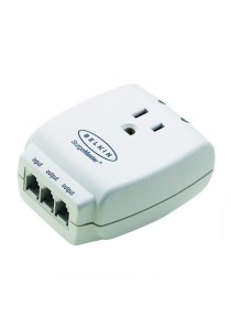 Belkin F9H110VSACW Mastercube 1 Way Surge Protector With Tel Protection
