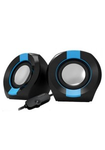 Vinnfier Icon 202 USB Multimedia Speaker (Black/Blue)