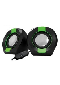 Vinnfier Icon 202 USB Multimedia Speaker (Black/Green)