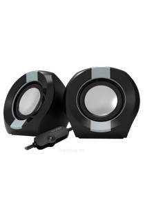 Vinnfier Icon 202 USB Multimedia Speaker (Black/Grey)