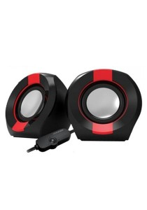 Vinnfier Icon 202 USB Multimedia Speaker (Black/Red)