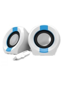 Vinnfier Icon 202 USB Multimedia Speaker (White/Blue)