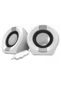 Vinnfier Icon 202 USB Multimedia Speaker (White/Gray)